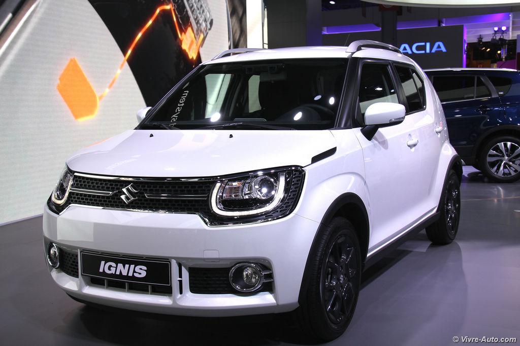 Lire l'article «Nouveau Suzuki Ignis 2017, le petit crossover»