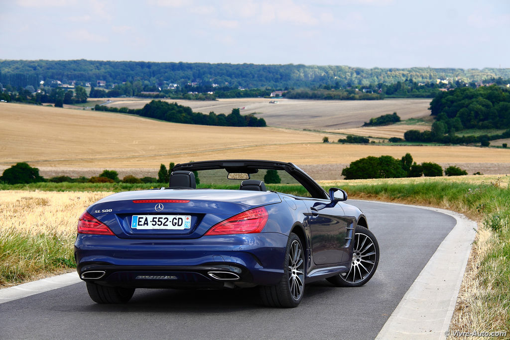 Lire l'article «Essai Mercedes SL 500 2016, vers les cinq étoiles ?»