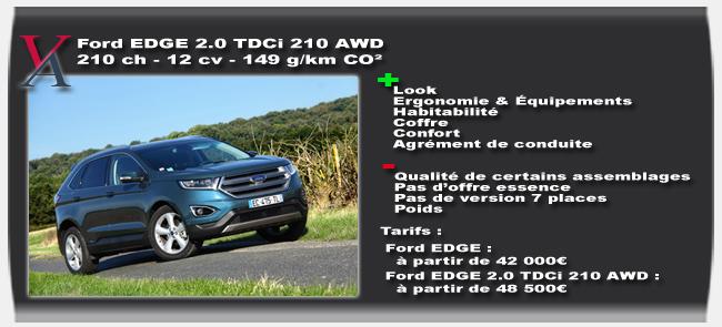 essai Ford EDGE TDCi 210