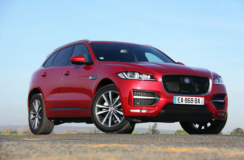 essai jaguar f pace 2 0d 180 ch awd r sport. Black Bedroom Furniture Sets. Home Design Ideas