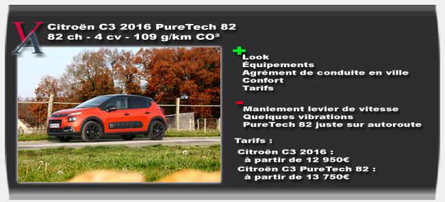 essai CItroen C3 2016