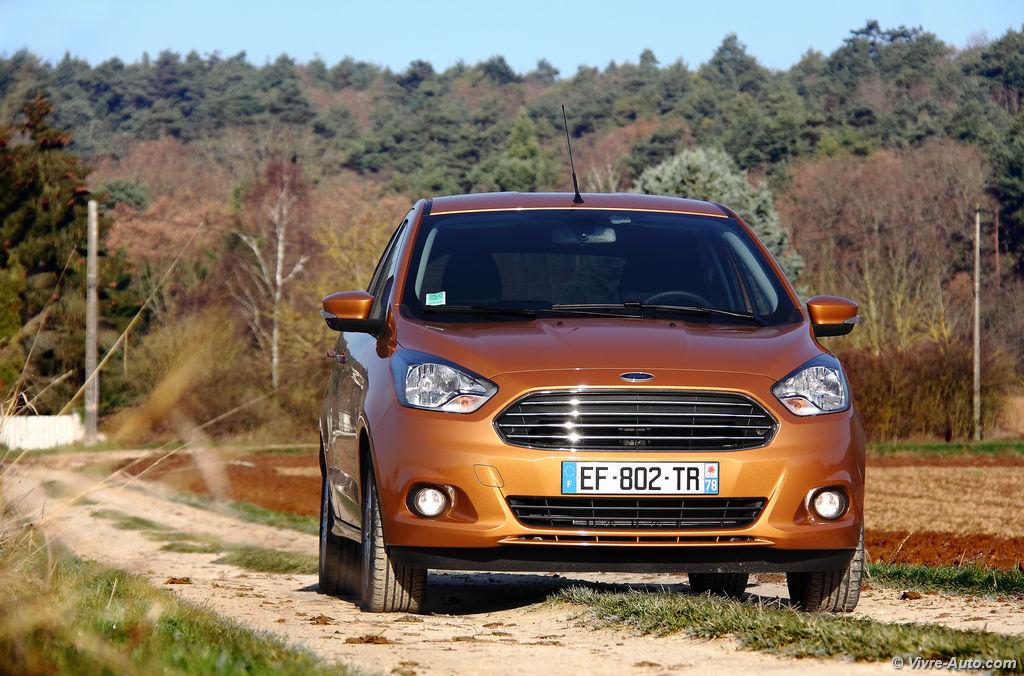 Lire l'article «Essai Ford Ka+ 1.2 Ti-VCT 85 ch, + de place pour un prix =»
