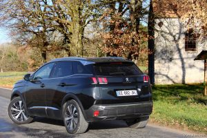 Essai Peugeot 3008 GT 2016