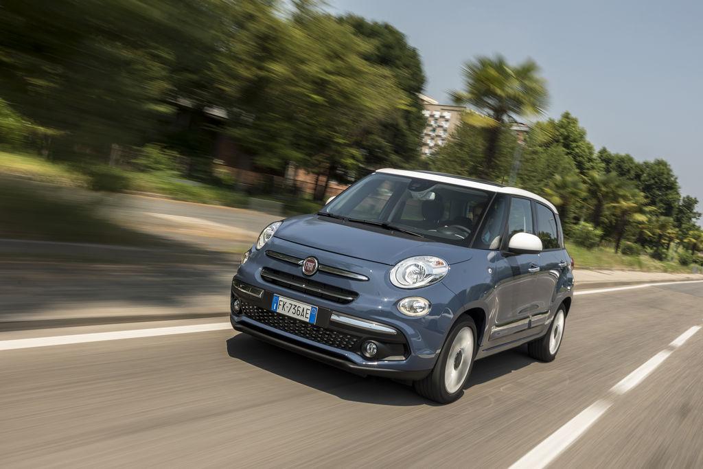 Lire l'article «L'heure du restylage a sonné pour le Fiat 500L 2017»
