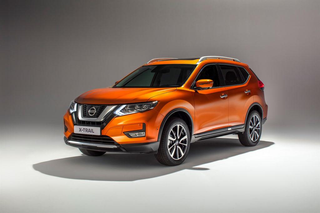 Lire l'article «Le Nissan X-Trail 2017 s'offre un nouveau visage»