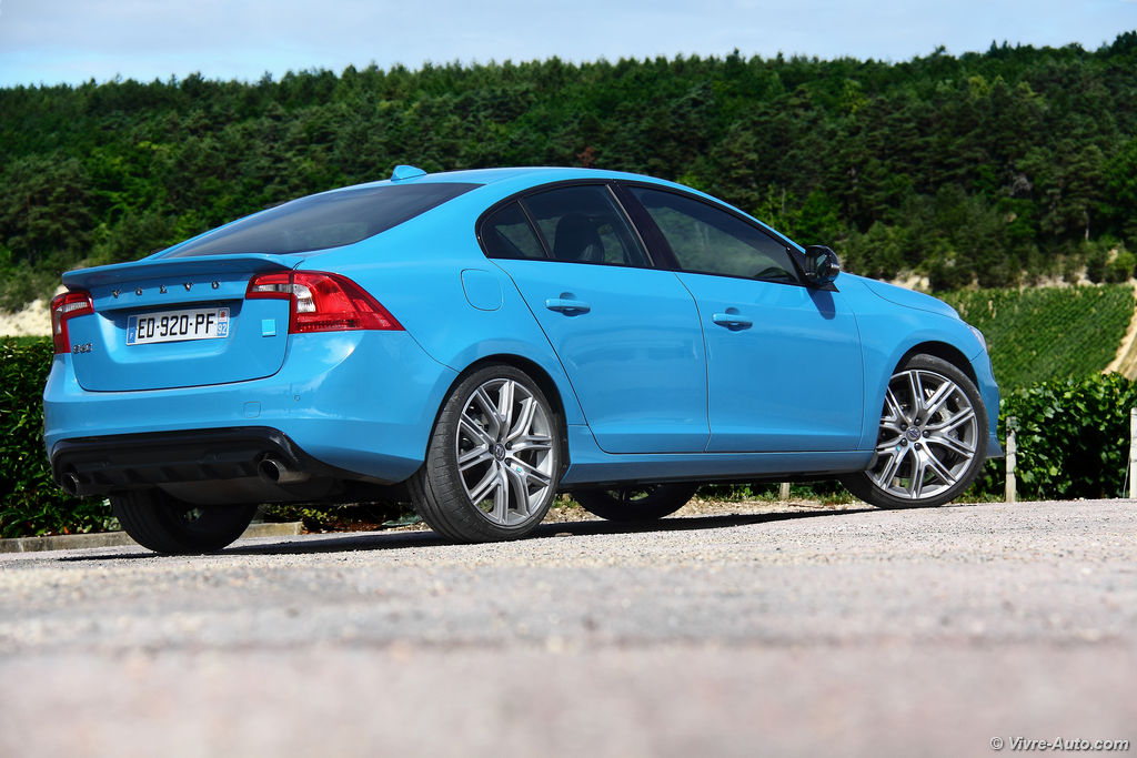 essai volvo s60 polestar t6 awd un mod le exclusif. Black Bedroom Furniture Sets. Home Design Ideas