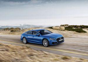 Audi A7 Sportback 2018 Ara Blue