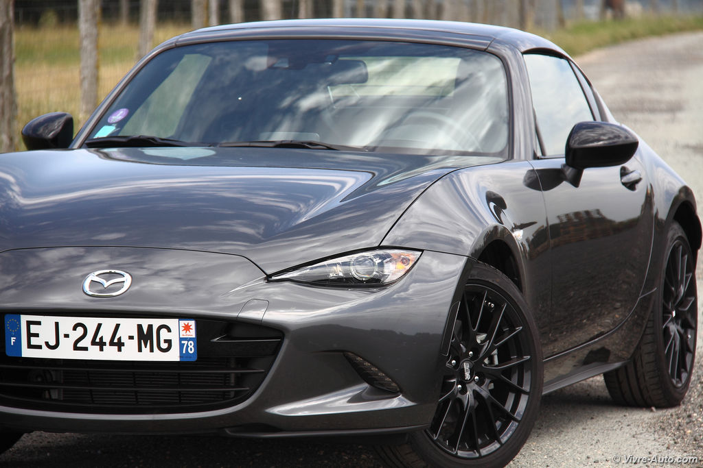 Lire l'article « Essai Mazda MX-5 RF First Edition 2.0L 160, Jinba Ittai ! »