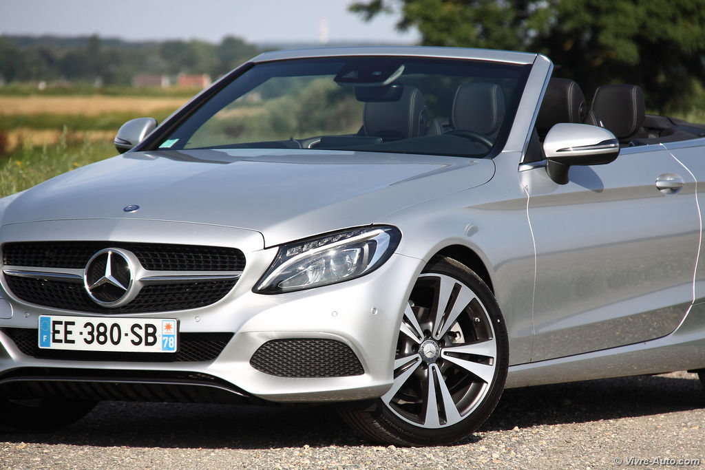 Lire l'article «Essai Mercedes Classe C Cabriolet 220d 4Matic»