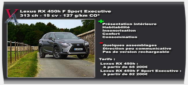 essai Lexus RX 450h