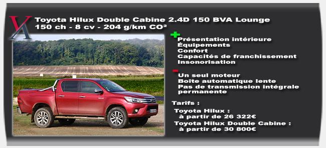 essai Toyota Hilux