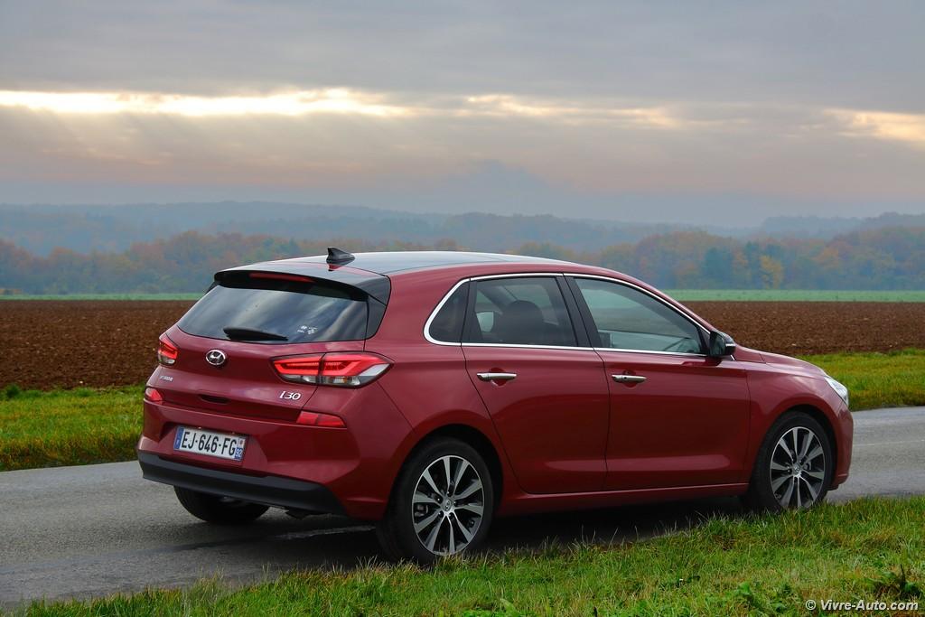 Lire l'article «Essai Hyundai i30 2017 1.4 T-GDi 140 DCT-7, la compacte sérieuse»