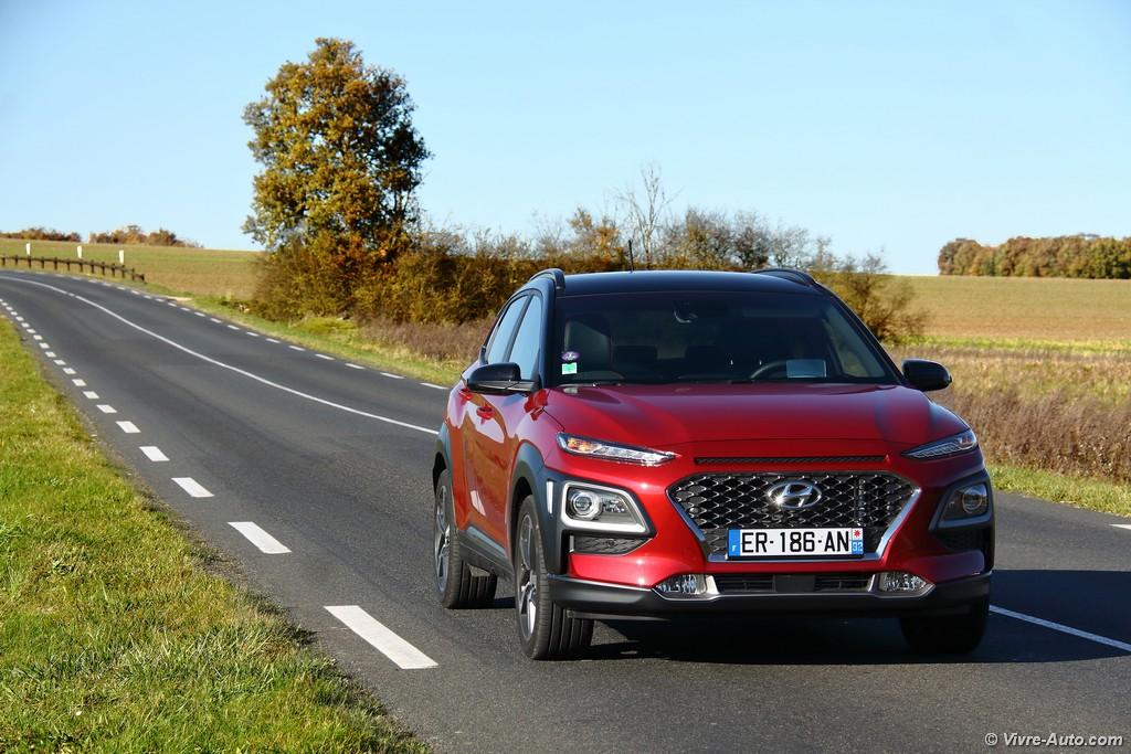 Lire l'article «Essai Hyundai Kona 1.0 T-GDi 120, le look en prime»