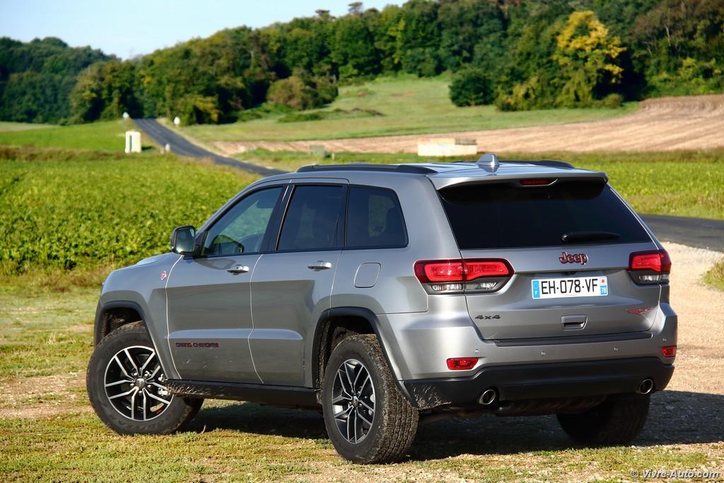 Lire l'article «Essai Jeep Grand Cherokee Trailhawk, prêt pour l'aventure !»