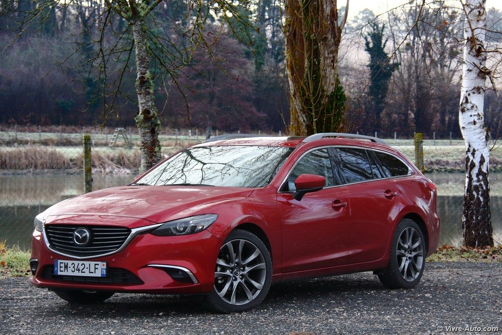 essai mazda 6 wagon skyactiv d 175 bva bient t la retraite. Black Bedroom Furniture Sets. Home Design Ideas