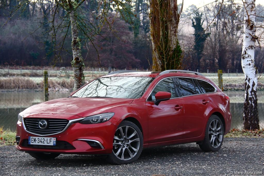 Lire l'article «Essai Mazda 6 Wagon Skyactiv-D 175 BVA, bientôt la retraite»