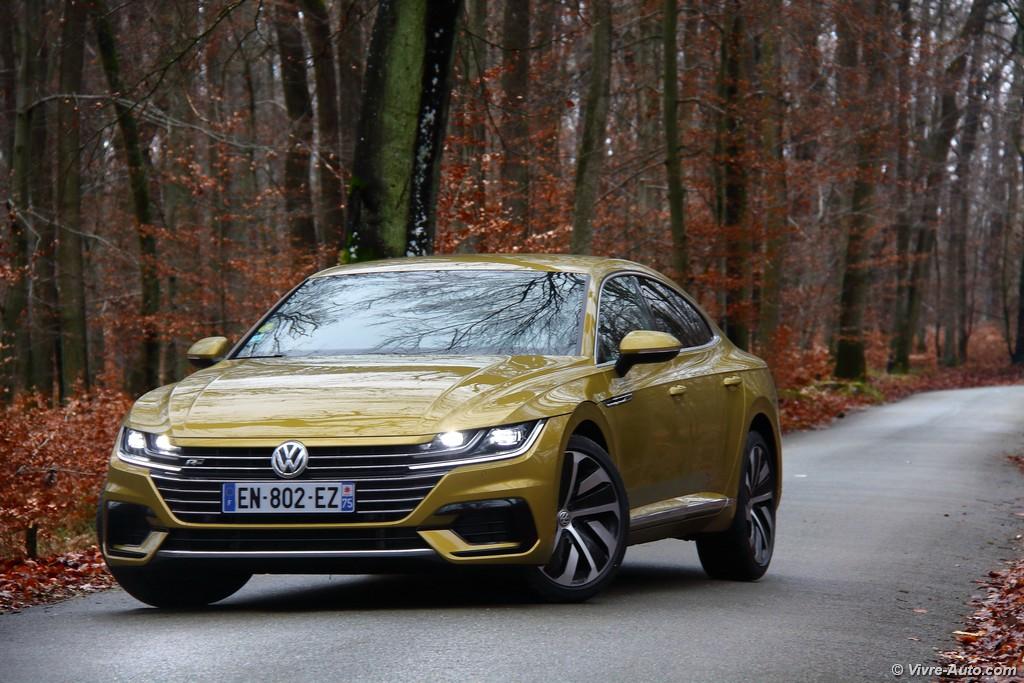 Lire l'article «Essai Volkswagen Arteon 2.0 TDI 150 DSG 7, en route vers le premium»