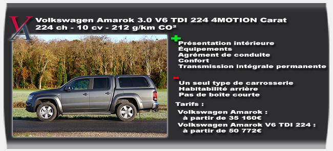 essai Volkswagen Amarok