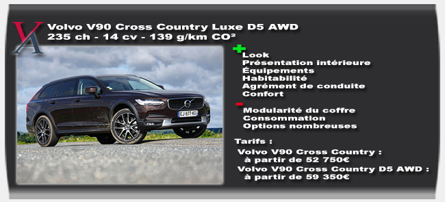 essai Volvo V90 Cross Country