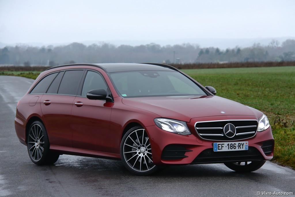 Lire l'article «Essai Mercedes Classe E Break 220 d Sportline, le déménageur de luxe»