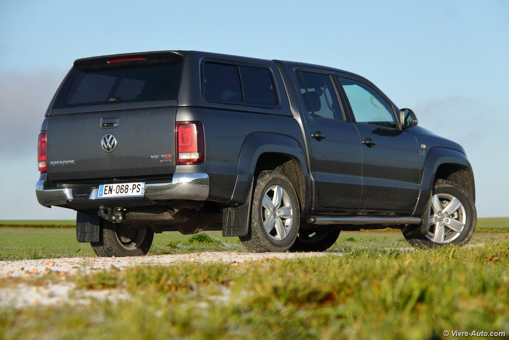 Lire l'article «Essai Volkswagen Amarok V6 TDI 224, le plus premium»