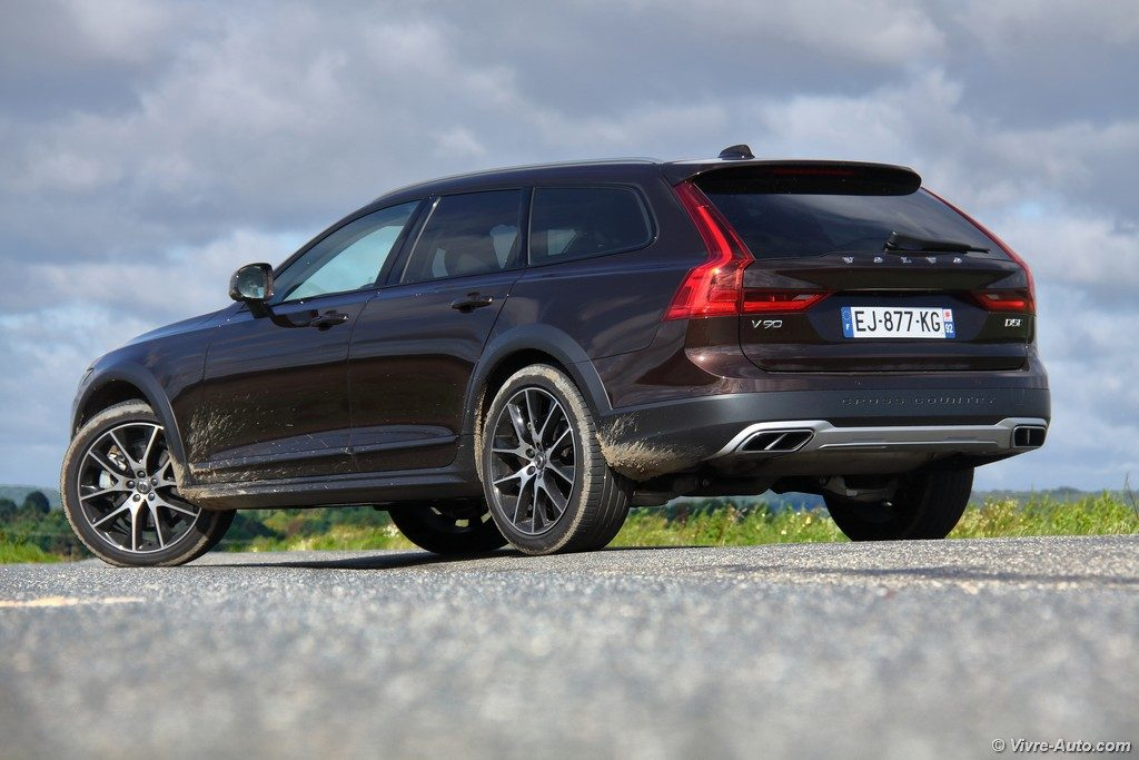 essai volvo v90 cross country luxe d5 awd le break de luxe tout chemins. Black Bedroom Furniture Sets. Home Design Ideas