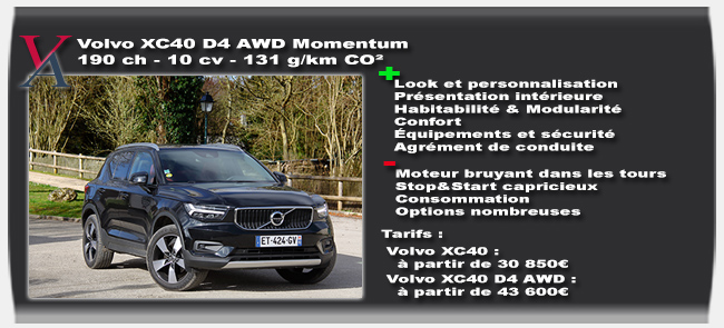essai Volvo XC40