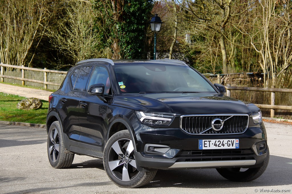 Lire l'article «Essai Volvo XC40 D4 AWD, le SUV compact de l'année»