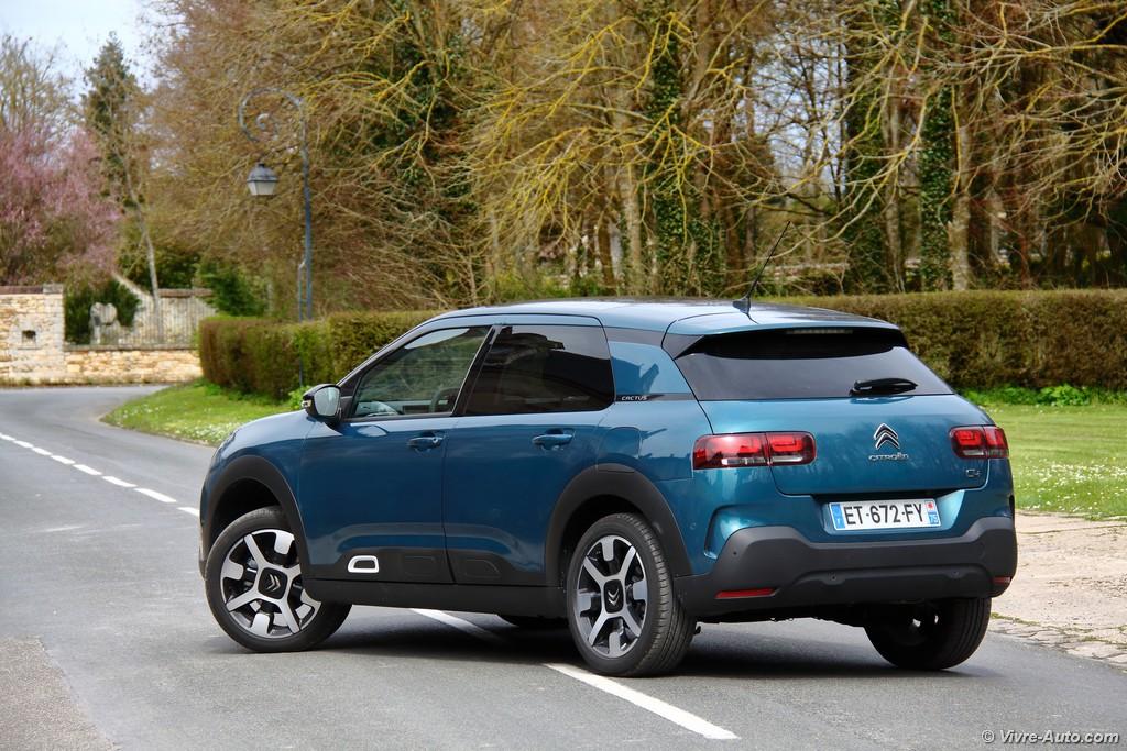 Lire l'article «Essai Citroën C4 Cactus 2018 PureTech 130, le confort absolu»