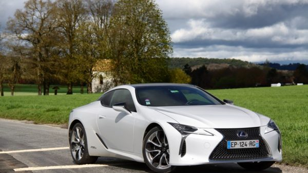 Essai Lexus LC 500h Sport +, du rêve à la réalité