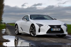 essai Lexus LC 500h