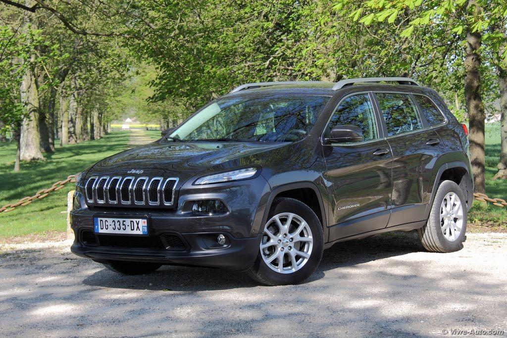 Q4 Jeep Compass >> Essai Jeep Cherokee 2.0 MultiJet 140 4x2 : nouvelle ...