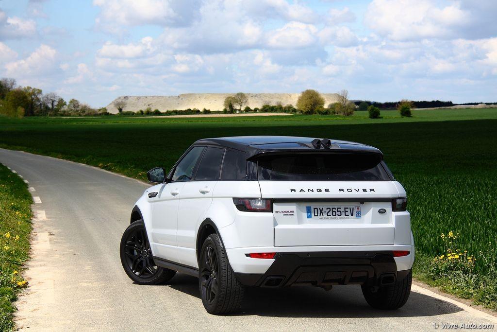 essai range rover evoque td4 180 un vrai 4x4 au look ravageur. Black Bedroom Furniture Sets. Home Design Ideas
