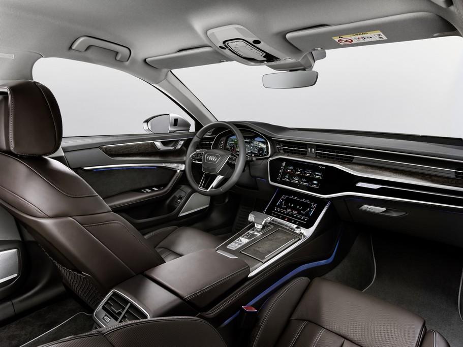 Nouvelle Audi A6 2018 Elle S Inspire De L A8